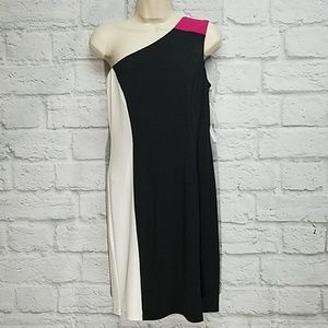 Maggy London | NWT One Shoulder Dress